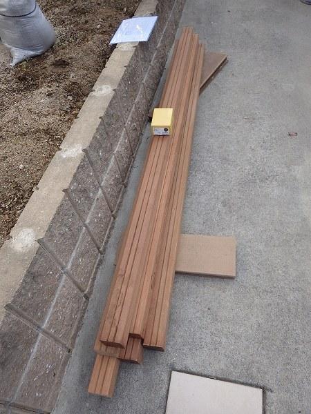 木製フェンス材