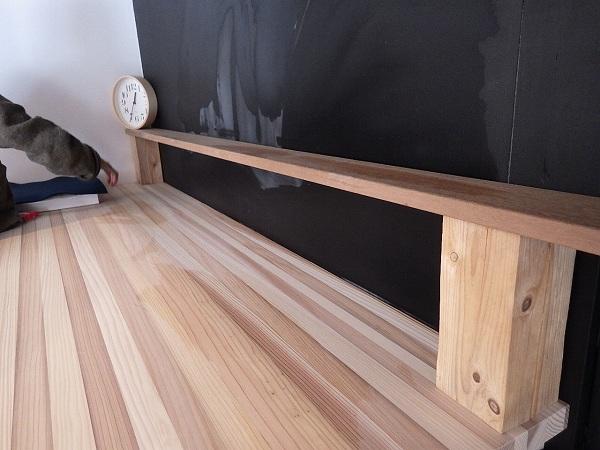 作業台の棚