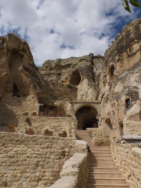 トルコ洞窟ホテル1