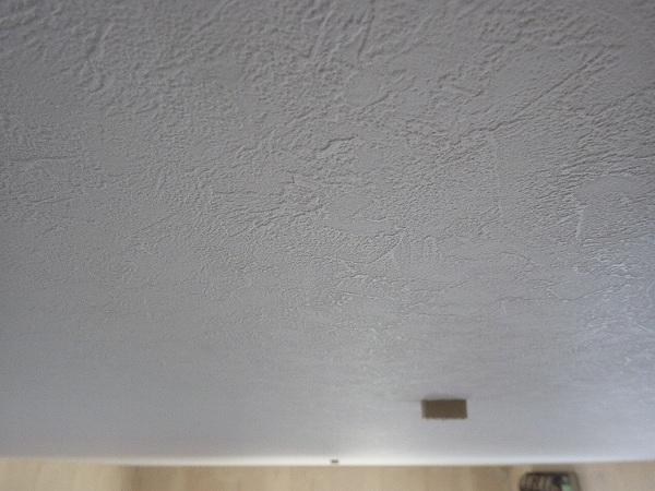施工後天井壁紙