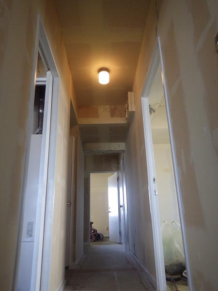 施工前廊下