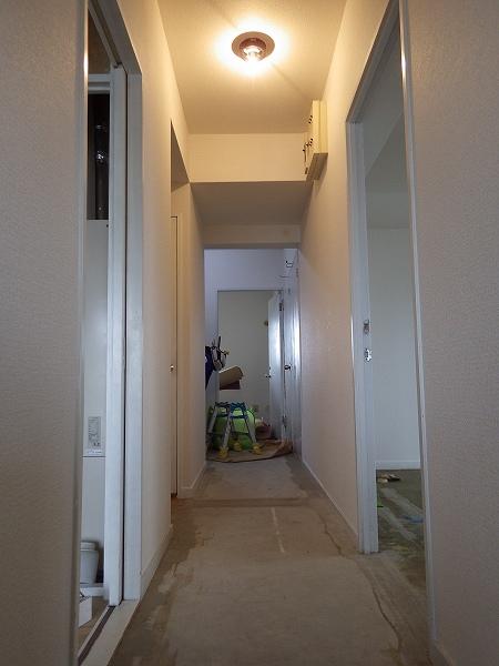 施工後廊下