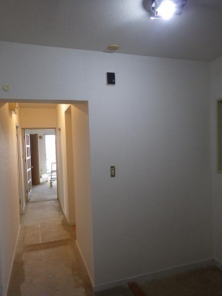 施工後玄関